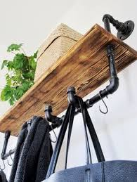 Industrial Style Coat Rack DIY Industrial Coat Rack Coat racks Pipes and Industrial 70
