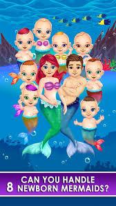 mermaid salon make up doctor kids games free