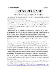 new car dealership press releasePR  Rhonda Mitchell