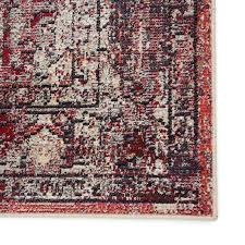 red and cream rug medallion red cream area rug red black cream rug