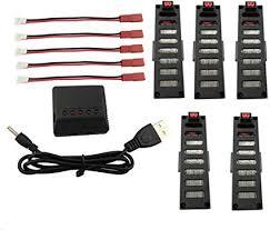Fytoo Accessories 5PCS 3.7v 500mah Lithium Battery ... - Amazon.com