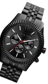 michael kors lexington watches up to 70% off at tradesy michael kors 100% new michael kors men black lexington chronograph watch mk8320