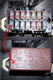 suzuki club uk • view topic lose wires suzuki samurai sj413 1989 fusebox jpg