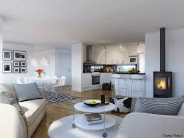 Open Living Room And Kitchen Designs Exterior New Decoration