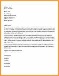 Cover Letter Examples For Medical Assistant 9 10 Medical Assistant Cover Letters Samples Aikenexplorer Com