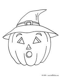 Small Picture Scary carved pumpkin coloring pages Hellokidscom