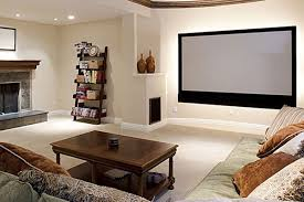 Small Picture cool and minimalist home theater decor ideas