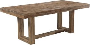 modern rectangular dining table with rustic trestle base modern rectangular dining table a1 modern