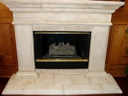 cast stone fireplace interior exterior doors design photo