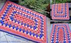 Вязание крючком квадратных ковриков для начинающих видео