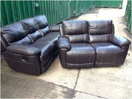 3 seater leather recliner sofa comfy 3 seater brown leather recliner sofa brown leather reclining
