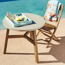mosaic outdoor bistro table solid