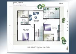 X House Plan East Facing Home Plans India Pre 30x40 North