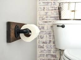 full size of diy toilet paper holder extender tree industrial with shelf rustic wood shelves made