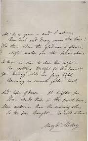 handwritten poems of famous authors