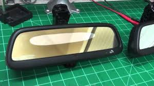 auto dimming mirror repair youtube 2003 Audi A4 Antenna at 2003 Audi A4 Rear View Mirror Wiring Diagram