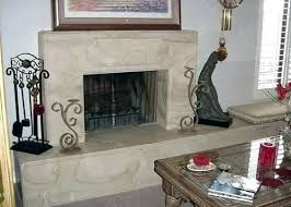fireplace resurface with stone refacing kits surround cost to ideas contemporary