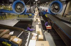 Fedex Sort Observation For Fedex Its The Biz Busiest Season Houston Chronicle