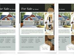 Brochures Templates Free Download Real Estate Listing Brochure Template Just Listed Design Instant