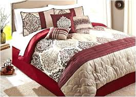 best bedding red brown white color combine in shas artisan home de luxe rugs goods captivating