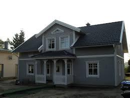 Welche Hausfarbe Zu Rotem Dach Welche Farbe F R Fassade Erst Das