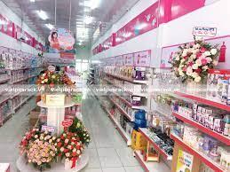 Phân phối kệ trưng bày siêu thị mẹ và bé tại Ninh Thuận - Việt POS Rack