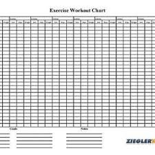 Workout Progress Charts Fitness Planners Page 3 Home Fitness