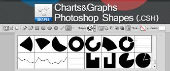 Chart And Graph Vector Photoshop Shapes Psddude