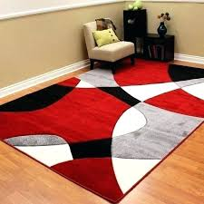 black and red rugs modern rugs red black white modern rugs red black and grey area