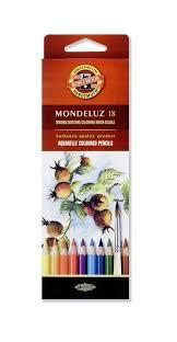 <b>цветные карандаши</b> 18 цветов <b>KOH</b>-I-<b>NOOR Mondeluz</b> ...
