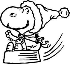 Small Picture Christmas Snoopy Coloring Page Wecoloringpage