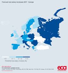rising inflation means uk salary increases amongst lowest in the uk s average real wage increase is expected to fall behind the rest of europe in 2017 salaries in europe are expected to rise by 1 3 per cent on