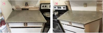 i needed three countertops each with unique issues one 36 inches long with square ends that fit between a tall pantry cabinet and the range 1a
