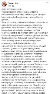 Boğaziçili öğrencileri tehdit etmişti... Cevdet Kılıç o sözlerinden çark  etti!