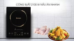 Bếp từ Gree GCWK-2172A - Công suất 2100W Nấu ăn nhanh Tiết kiệm điện năng  chất liệu mặt bếp Crystallite bếp từ đơn sản xuất tại Trung Quốc