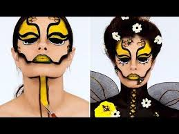 10 23 be the queen bee with our creative diy makeup tutorial makeup ideas