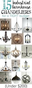 chandeliers under 100 industrial farmhouse for a tight budget dollars chandeliers under 100