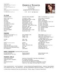 Resume With Accent Resume GABRIELE SCHAFER 96