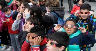 Eyes Sun Eclipse The Kids Protect From During ' News Science E0Hpqv