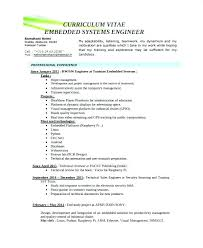 Control Systems Engineer Sample Resume Inspiration Control Systems Engineer Cv Example Engineering Resume Design Sample