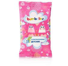 <b>Влажные салфетки Bambolina детские</b> — купить по выгодной ...