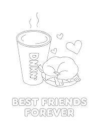Explore the virtual world of pets and choose your favorite pet in the coloring pages below. Treat Your Bff This National Best Friend Day Dunkin