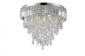 marquis by waterford bresna 50cm mixed crystal bathroom flush
