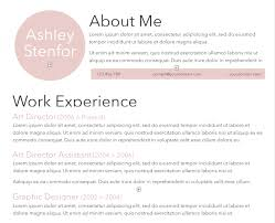 About Me In Resume Adorable 28 Free Microsoft Word Resume Templates That'll Land You The Job