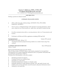 Health Care Resume Templates Research Coordinator Associate