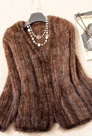 details about new 100 real knitted mink fur jacket coat outwear vintage warm women winter gift