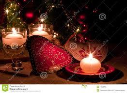 Kindness Christmas Lights Hearts Decorations And Christmas Lights Stock Image