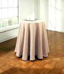 small round tablecloth rectangular