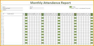 As Attendance Sheet Template No Register Free Employee Excel Day