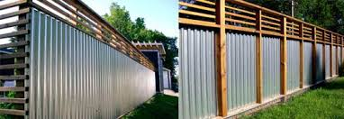 Interesting Sheet Metal Fence Top 25 Best Corrugated With Ideas